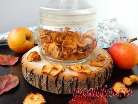 Яблоки в духовке и не только — как сушить на зиму в домашних условиях, как сделать сухофрукты
