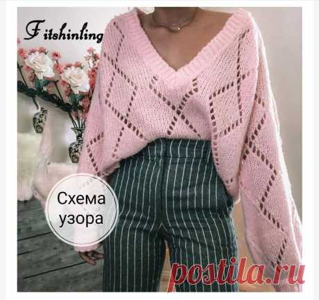 Photo by knitting_in_trendd on March 28, 2021. May be an image of 1 person and text that says 'Fitshinling схема узора'.