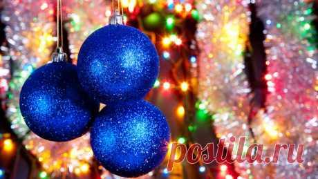 Новогодний ритуал с ёлочной игрушкой...