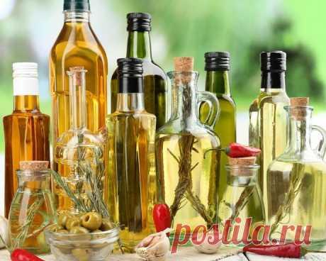 Чего не следует делать с растительным маслом