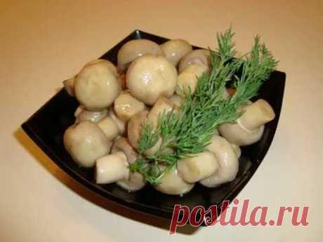 Мариновані гриби(Шампіньйони)/Как Сделать Маринованные Грибы Дома (Шампиньоны)/Marinated Mushrooms