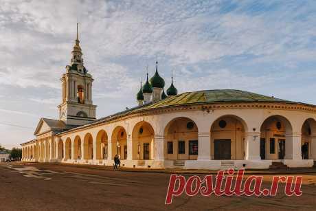 Едем в Кострому: город купеческого шика, вкусного сыра,   Perito