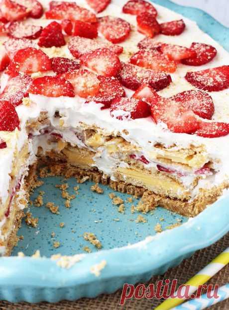 Рецепты тортов без выпечки, без муки | Журнал Домашний очаг