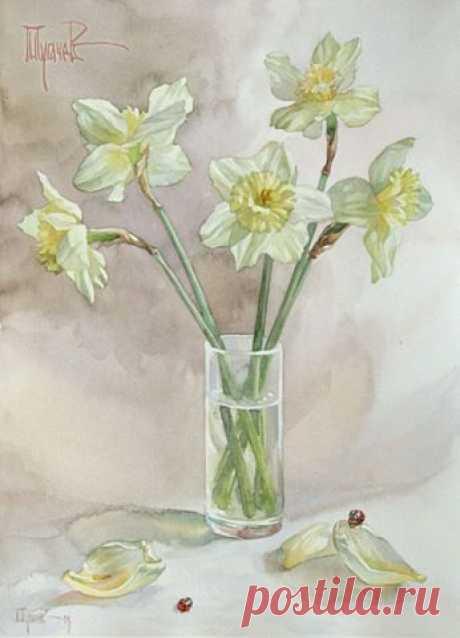 Живопись - это поэзия, которую видят Наталья Занкина