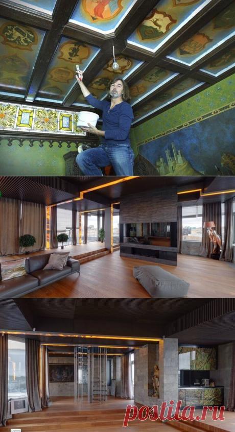 Художник Никас Сафронов показал свою новую 15-ти комнатную квартиру | В темпі життя