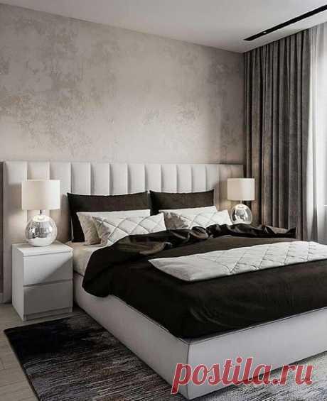 Интересный проект спальни