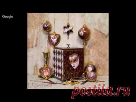Lilia Egorova Nuances of imitation of sewing lace