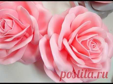 Роза светильник из изолона мастер класс