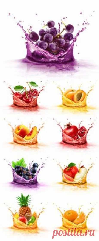 +more fruit juice illustrations