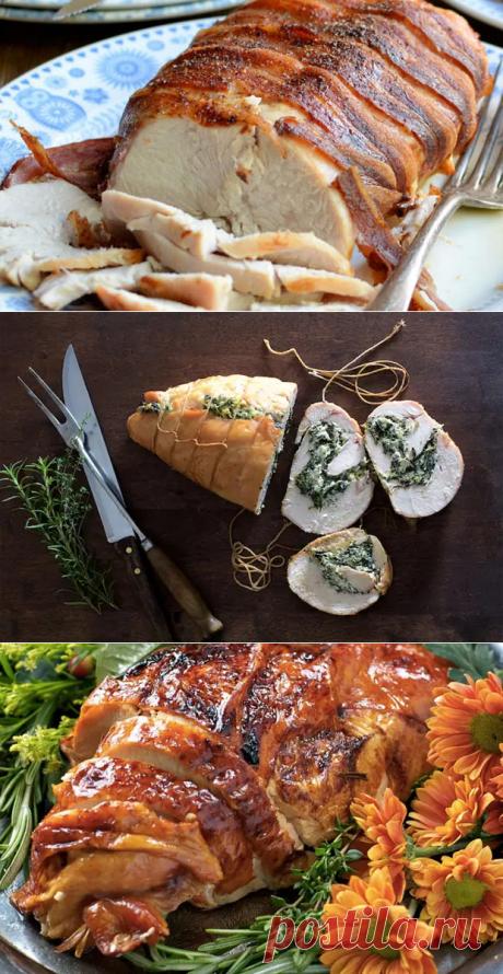 Готовим из индейки так же сочно, как из курицы. 7 блюд для духовки, где нужно только подождать - Steak Lovers - медиаплатформа МирТесен