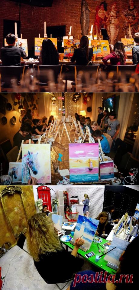 Топ-5 арт-вечеринок Петербурга, где общаются и рисуют  | Blog Fiesta