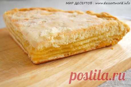 Татарский пирог «Лимонник» трехслойный | Четыре вкуса