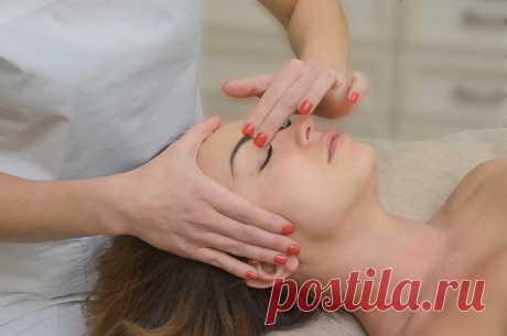 Студия фейс массаж в Москве - Массаж кожи лица