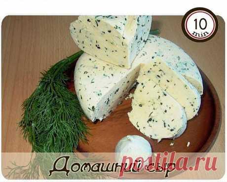 Домашний сыр.