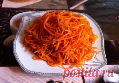Морковь по корейски на зиму рецепты с фото
