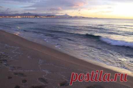 Рассветы и закаты - Аликанте, побережье Коста Бланка