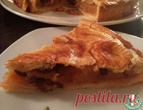 Закрытый яблочный пирог – кулинарный рецепт