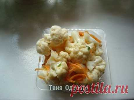 Маринованная цветная капуста(по-корейски) : Люблю готовить