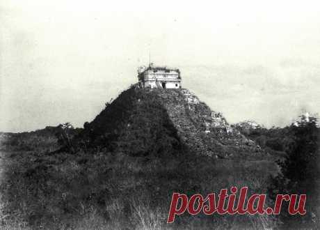 Что не показывают туристам на руинах городов майя . Чёрт побери