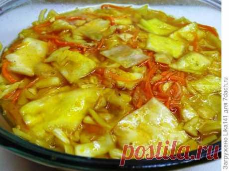Как быстро приготовить капусту по-корейски — Фактор Вкуса