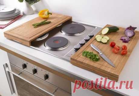 Как увеличить рабочую столешницу на маленькой кухне, когда увеличивать вроде как бы и некуда?   Мебель своими руками   Яндекс Дзен