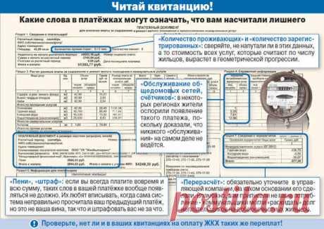 (+5) Как нас обманывает ЖКХ : Полезные советы : Дом : Subscribe.Ru