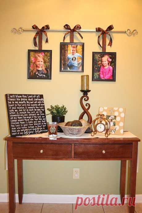 Фотографии в интерьере   Наш дом