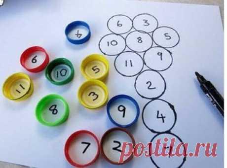 Изучаем цифры и состав числа