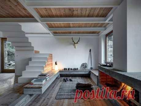 Сельский гламур: минималистский дом в деревенском стиле