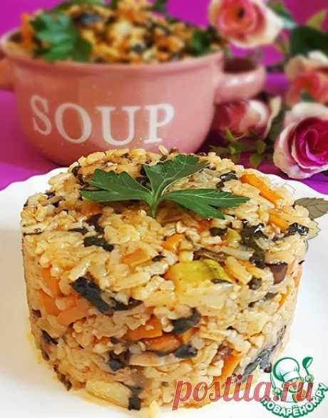 Рисовое рагу с овощами Кулинарный рецепт