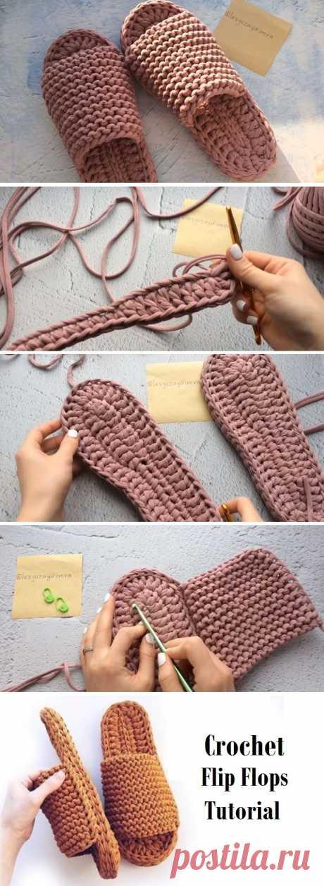 Learn to Crochet Flip-Flops - Design Peak