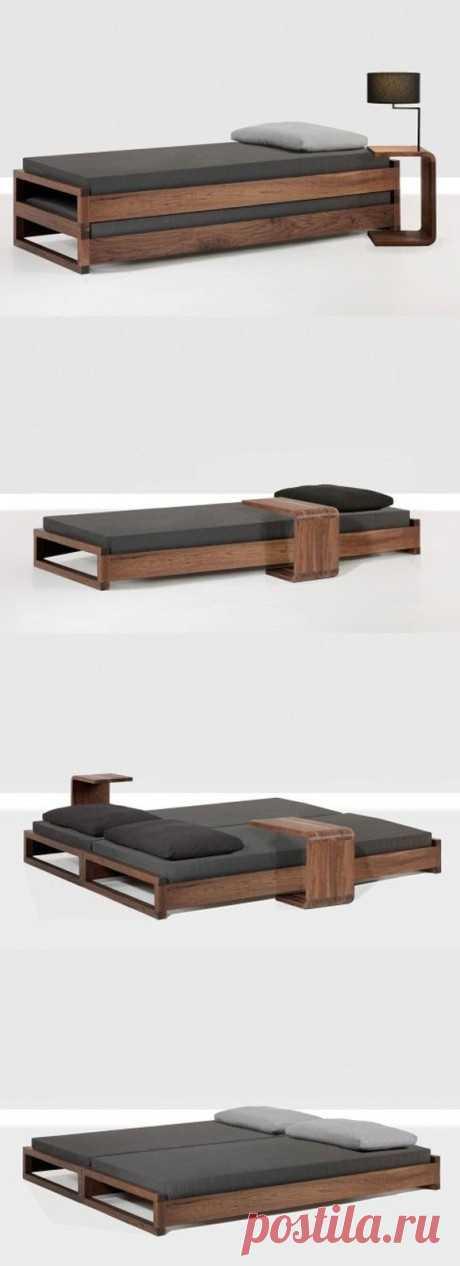 Кровать - трансформер (с тумбами) Модная одежда и дизайн интерьера своими руками