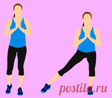 Топ упражнений для сжигания жира