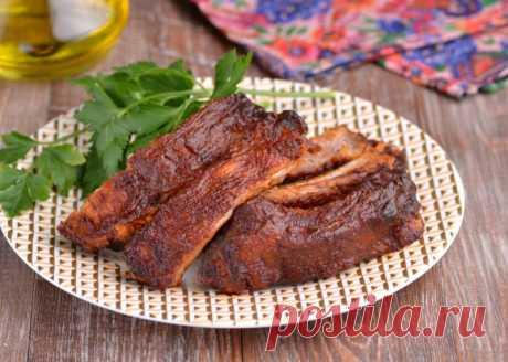 Свиные ребрышки в томатном соусе — Sloosh – кулинарные рецепты