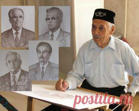Организовал галерею и музей «Пуистола», рисовал портреты ветеранов Санкт-Петербурга. Затем впервые посетил Казань | Mun Ira | Яндекс Дзен
