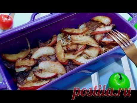 Печень по берлински с яблоками. Как вкусно приготовить печень