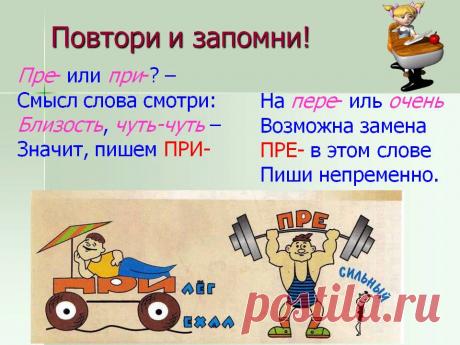 Приставки пре- и при-. Как не ошибиться на письме | Мария Ивановна | Яндекс Дзен