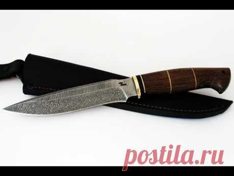 Los cuchillos del acero damasquino - el taller De cuchillo el Oso