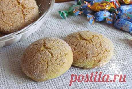 Кукурузное печенье - простой пошаговый рецепт с фото