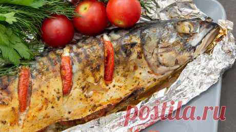 Любая рыба получается одинаково вкусной (мариную специальной смесью). Сегодня запекаем скумбрию.   Евгения Полевская   Это просто   Яндекс Дзен