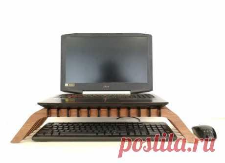 Столик для ноутбука из фанеры