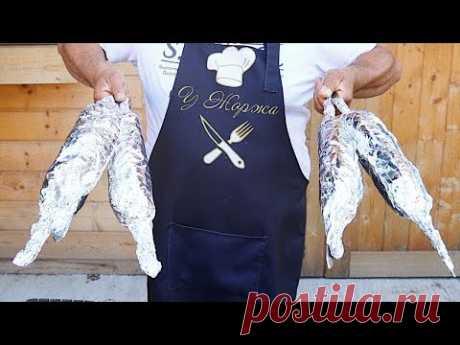Незабываемо вкусный рецепт мяса на мангале от Жоржа!
