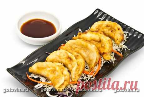 Рецепт Гёдза – японские пельмени с морепродуктами, Японская кухня / Готовим.РУ