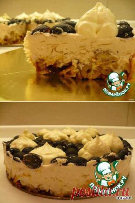 """Вкусный тортик без выпечки """"Аленка""""."""