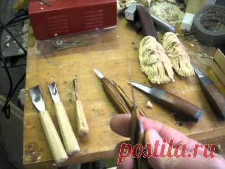 Wood Carving The Olde World Santa pt 1 - YouTube