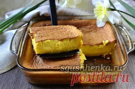 Умное пирожное - рецепт с фото пошагово в духовке