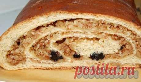 Рулет с грецкими орехами (рецепт с фото) | RUtxt.ru