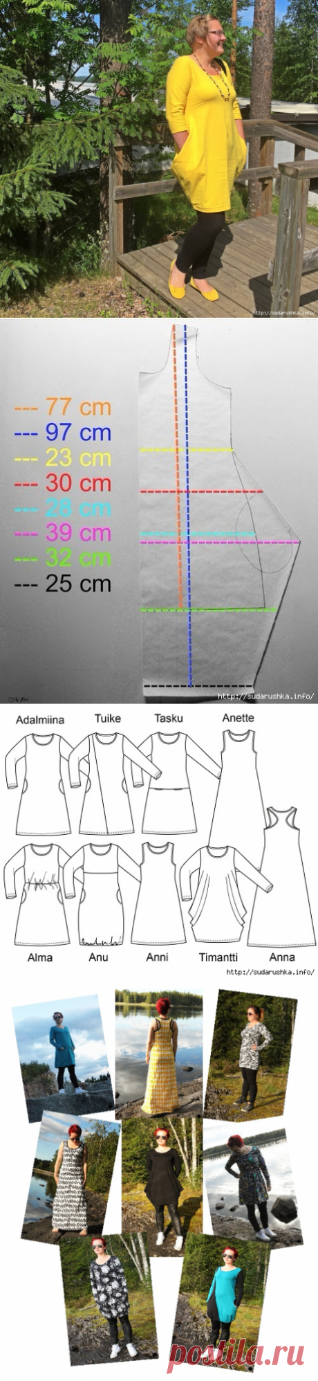 Women's dress, EUR 32-56 sizes. Several options