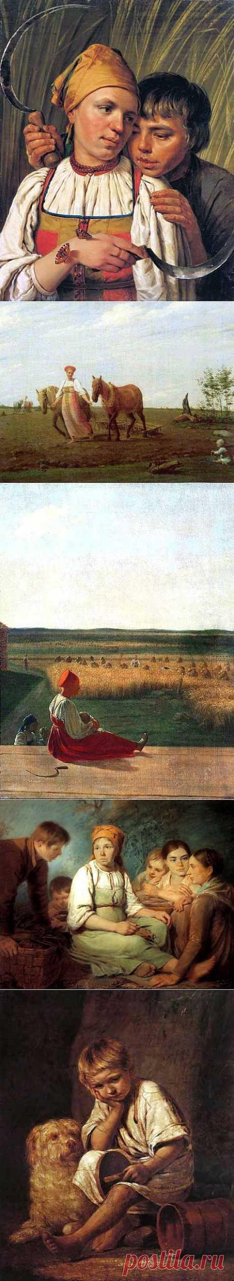 Русский живописец Алексей Венецианов (1780—1847).