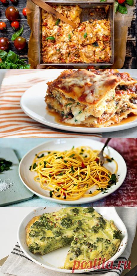 3 блюда итальянской кухни на каждый день